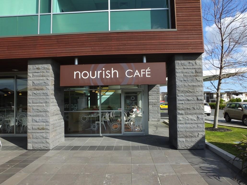 website nourish cafe