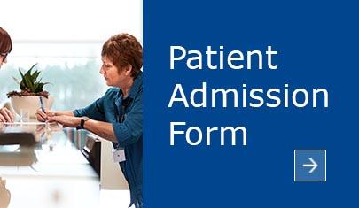 patient admission form